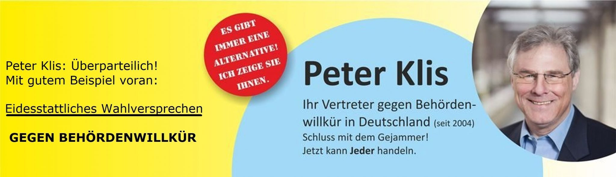 Einmalig in Deutschland: Eidesstattliches-Wahlversprechen